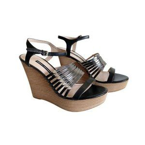 French Connection Demi Wedge Sandals Sz 41